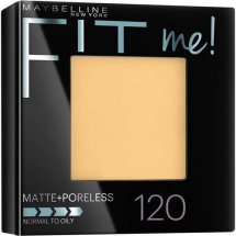 Maybelline New York Fit Me! Matte + Poreless Foundation Powder, Classic Ivory
