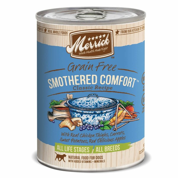 Merrick Classic Grain Free Smothered Comfort Canned Dog Food