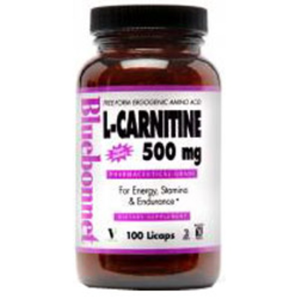 Bluebonnet L Carnitine 500mg