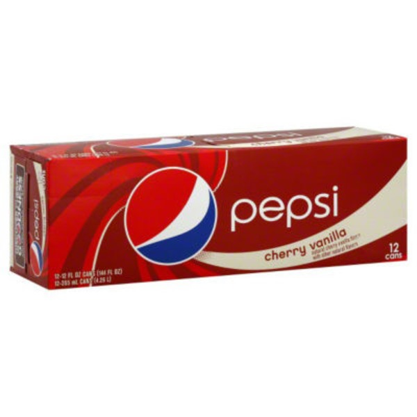 Pepsi Cola Cherry Vanilla Cola