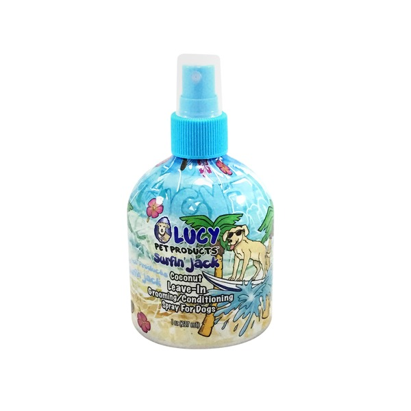 Lucy Pet Products Surfin' Jack Coconut Leave In Conditioning Dog Spray