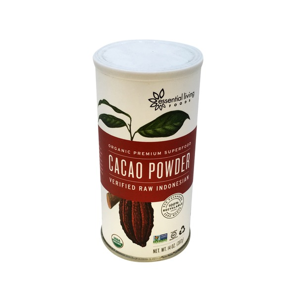 Essential Living Foods Organic Raw Indonesian Cacao Powder