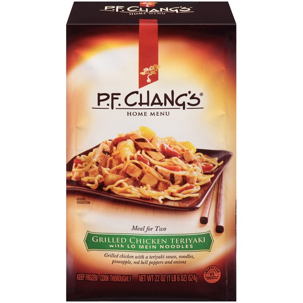 P.F. Chang's Home Menu Grilled with Lo Mein Noodles Chicken Teriyaki