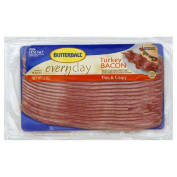 Butterball Everyday Thin & Crispy Turkey Bacon