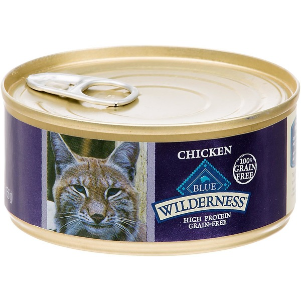 Blue Buffalo Wilderness, High Protein Grain-Free Chicken Recipe for Cats