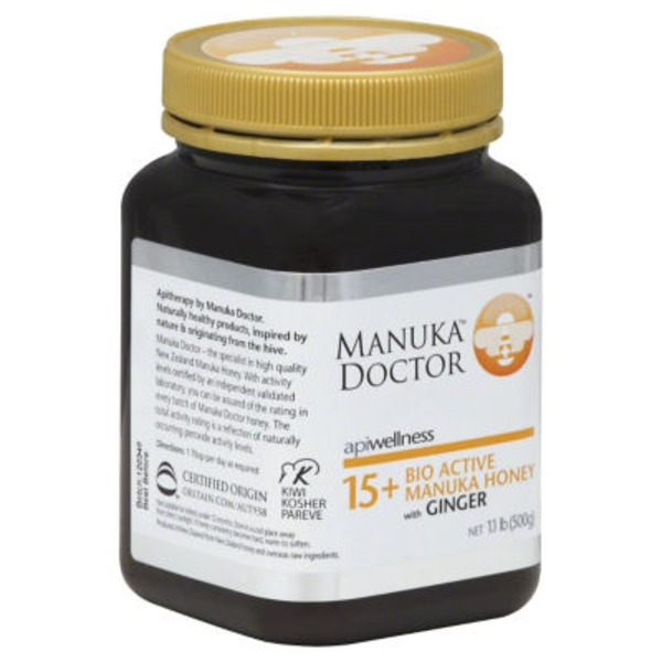 Manuka Doctor Bio Active Manuka Honey with Ginger