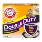 Arm & Hammer Double Duty Advanced Odor Control Clumping Litter, 20.0 LB