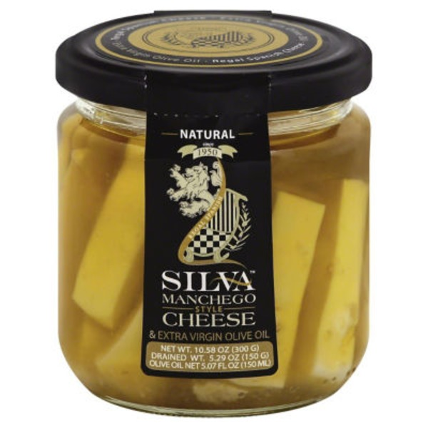 Silva Manchego Style Cheese & Extra Virgin Olive Oil Natural