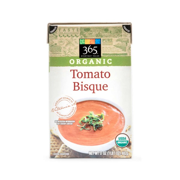 365 Soup Tomato Bisque Organic