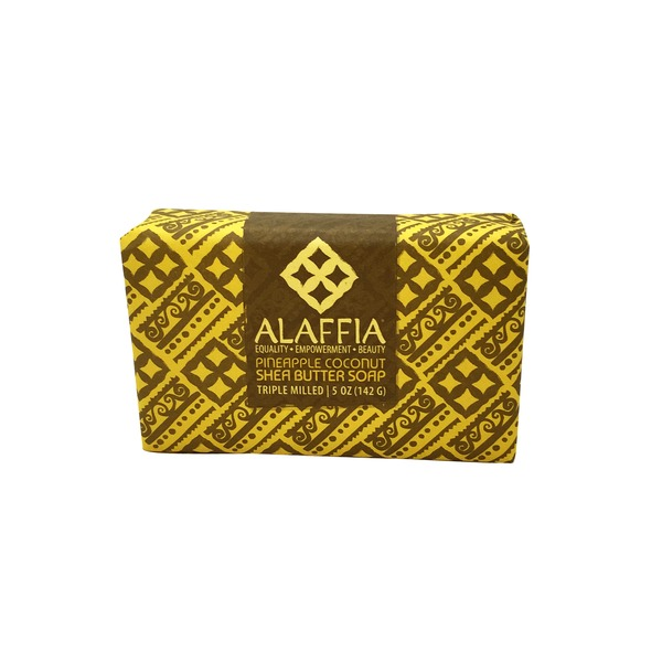 Alaffia Pineapple Coconut Soap