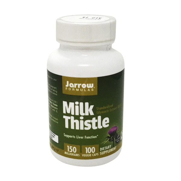 Jarrow Formulas Milk Thistle 150 Mg, v-caps