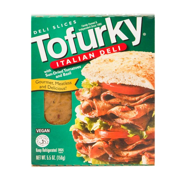 Tofurky Turtle Island Foods Tofurky Italian with Sun-Dried Tomatoes and Basil Ultra-Thin Deli Slices