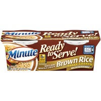 Minute Rice Ready to Serve Brown 4.4 Oz Rice
