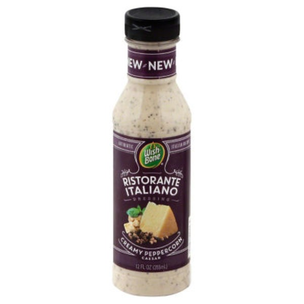 Wish-Bone Ristorante Italiano Creamy Peppercorn Caesar Dressing