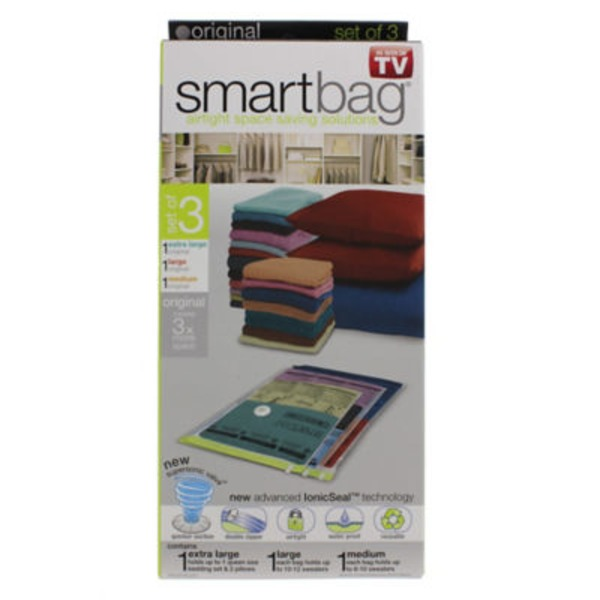 Dazz Smartbag Space Saving Bags Set
