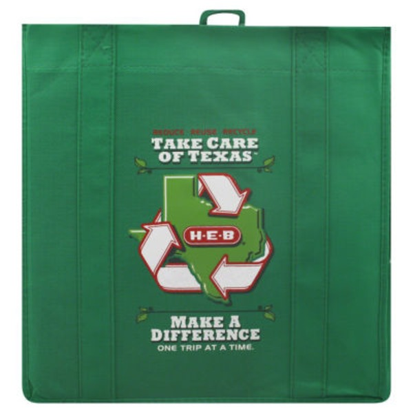 H-E-B Green Reusable Shopping Bag