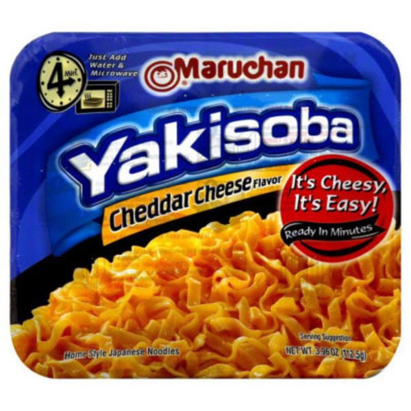 Maruchan Yakisoba Cheddar Cheese Flavor Noodles