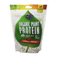 Garden of Life Organic Plant Protein Smooth Coffee Flavor Powder