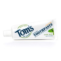 Tom's of Maine Fresh Mint Toothpaste With Flouride