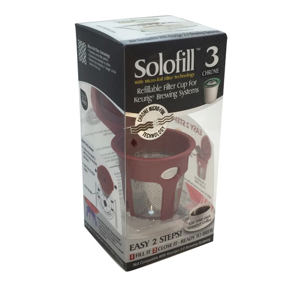 Solofill Cup Filter Cup, Refillable