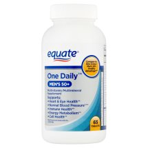 Equate one daily mens 50+ multivitamin, 65 ct