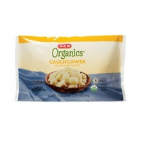 H-E-B Organics. Steamable Cauliflower Florets