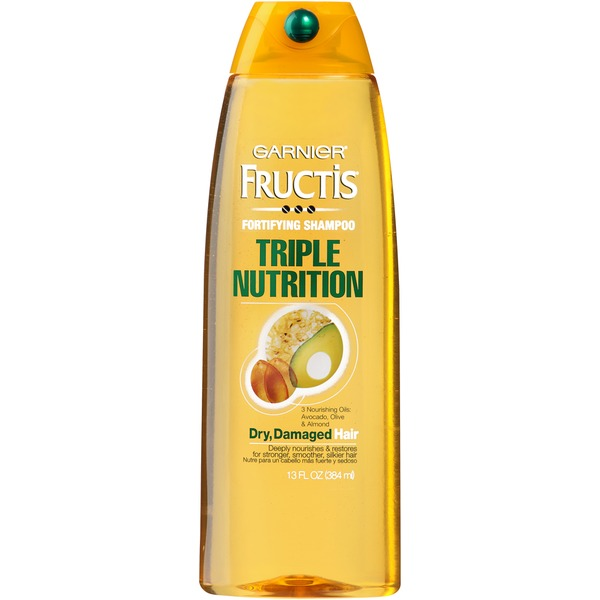 Fructis® For Dry, Damaged Hair Triple Nutrition Shampoo