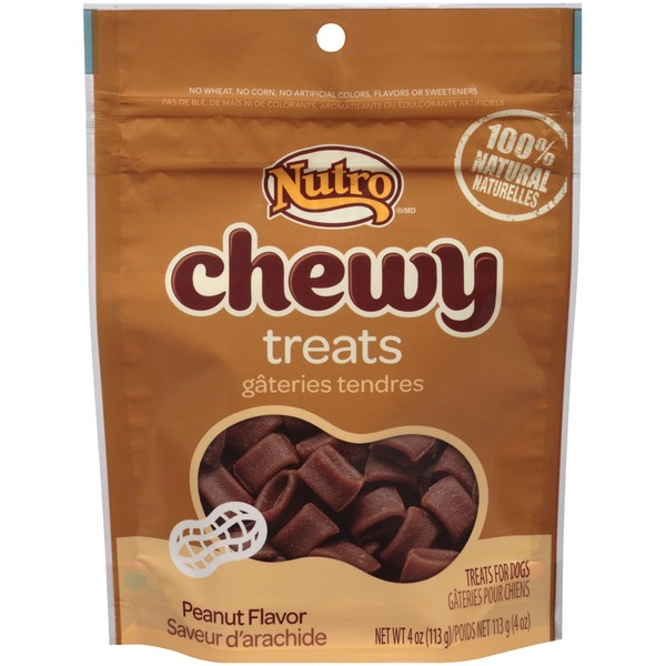 Nutro Chewy Peanut Flavor Dog Treats