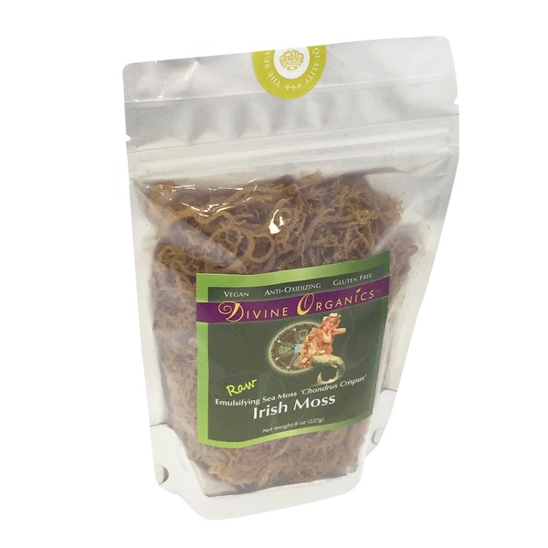 Divine Organics Raw Irish Moss