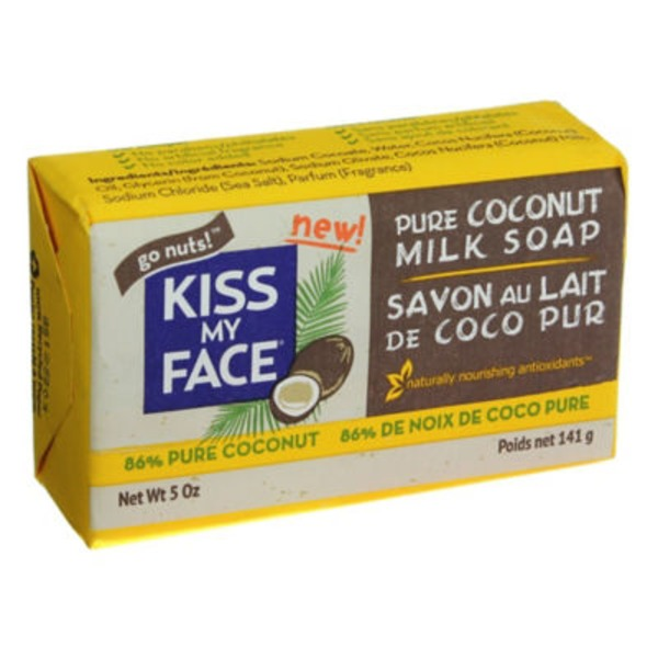 Kiss My Face Soap, Pure Coconut Milk