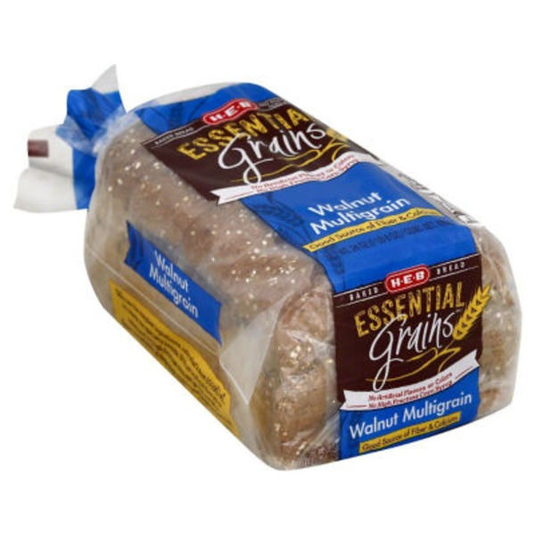 H-E-B Essential Grains Walnut Multigrain Bread