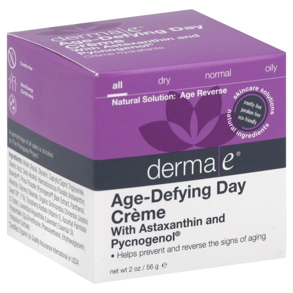 Derma E Day Creme, Age-Defying, All