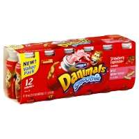 Dannon Danimals Smoothie Strawberry Explosion & Wild Watermelon - 12