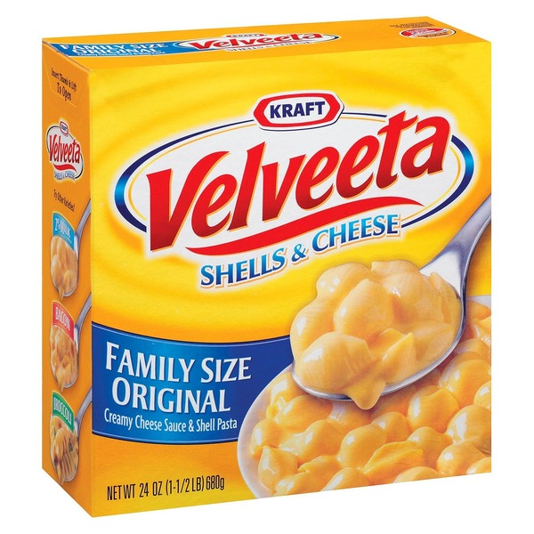 Kraft Velveeta Shells And Cheese Family Size
