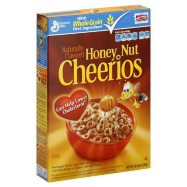 General Mills Honey Nut Cheerios Cereal