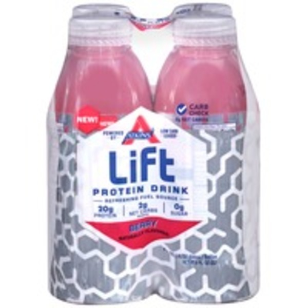 Atkins Lift Berry Protein Drink