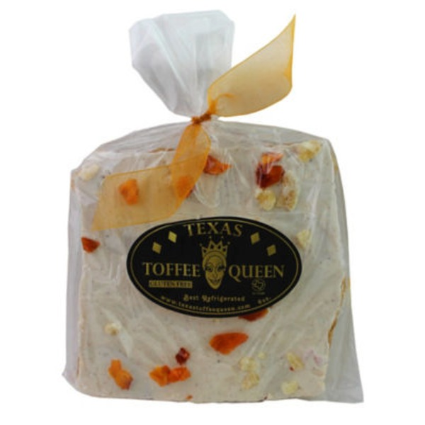 Texas Toffee Queen White Chocolate Peach Gin Hab Toffee
