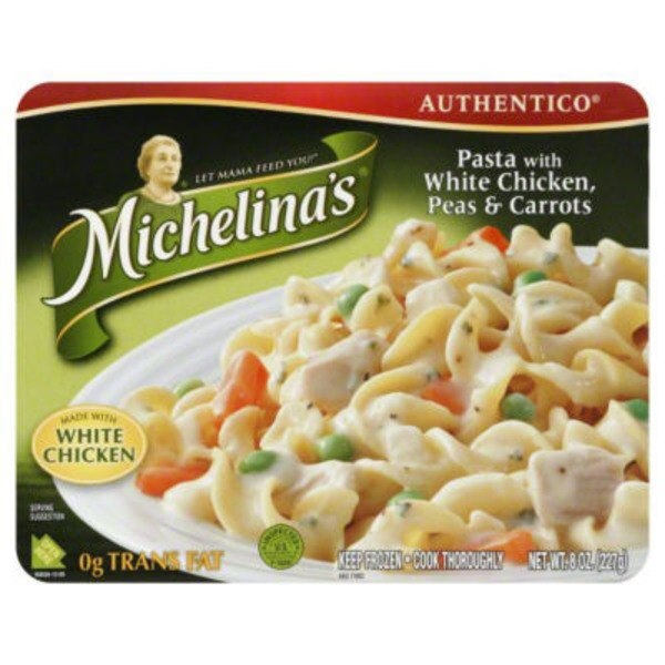 Michelina's Authentico Pasta with White Chicken Peas & Carrots