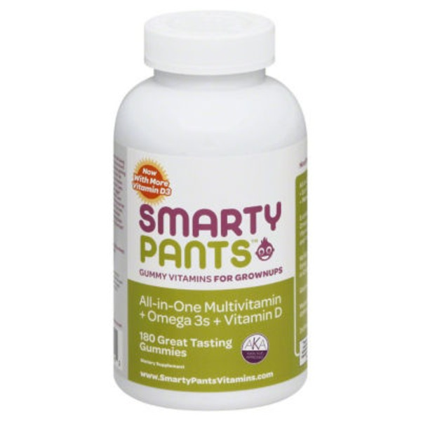 Smarty Pants Adult Multivitamin With Omega 3 & Vit D Gummies