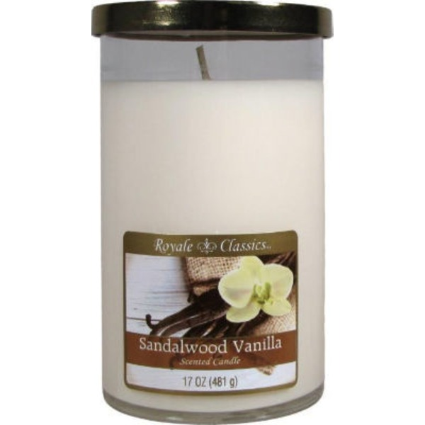 Royale Classics Sandalwood Vanilla Scented Candle
