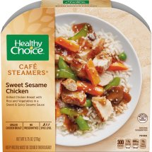 Healthy Choice Cafe Steamers Sweet Sesame Chicken, 9.75 ounces