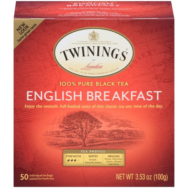 Twinings English Breakfast, 100% Pure Black Tea