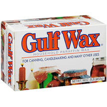 Gulf Wax Household Paraffin Wax For Canning Candlemaking & Many Other Uses