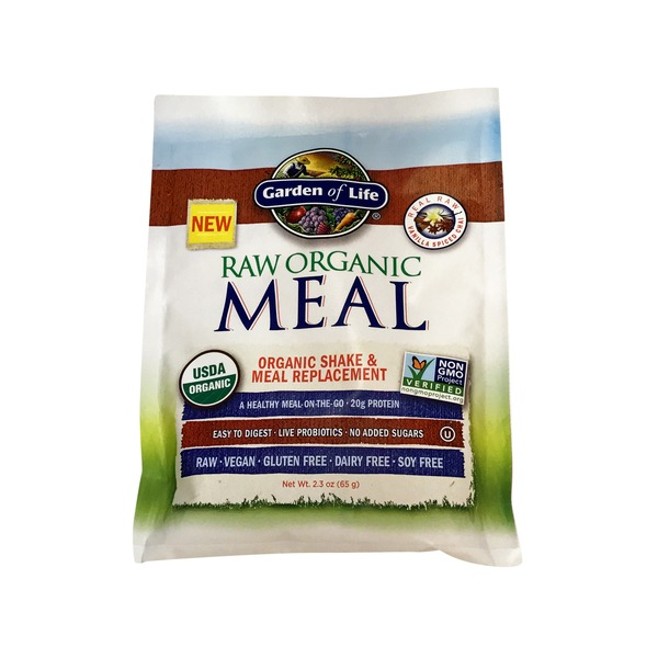Garden of Life Raw Meal Packet Vanilla Spiced Chai