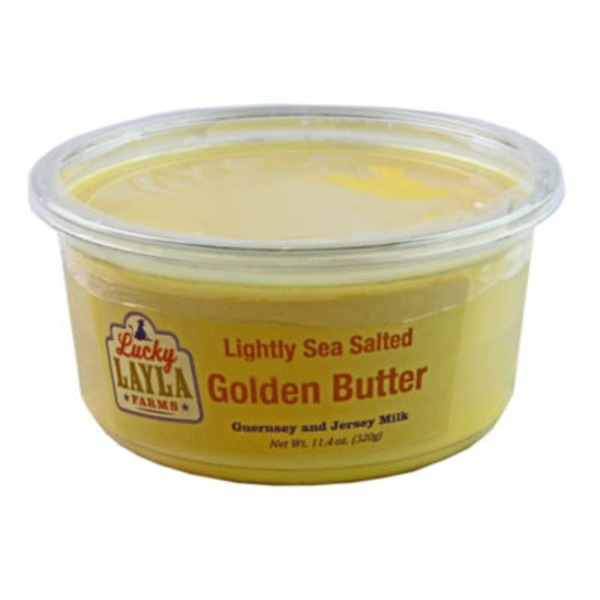 Lucky Layla Farms Lightly Sea Salted Butter