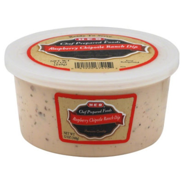 H-E-B Raspberry Chipotle Ranch Dip