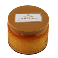 Voluspa Japonica Collection, Petite Candle in Colored Jar, Baltic Amber