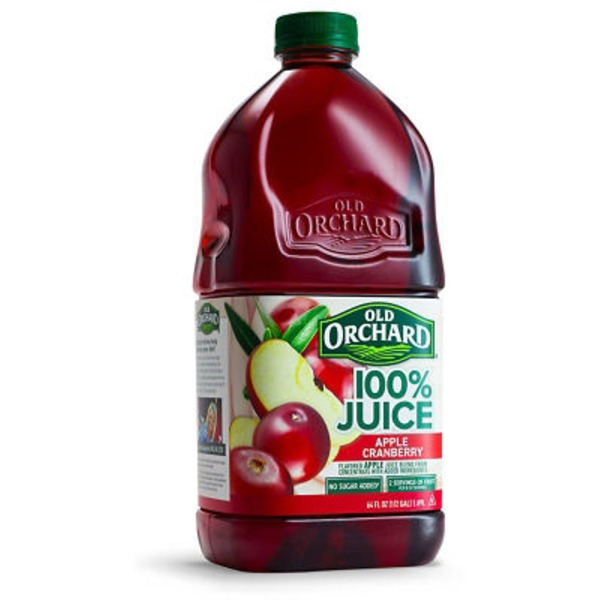 Old Orchard 100% Juice Apple Cranberry Juice Drink