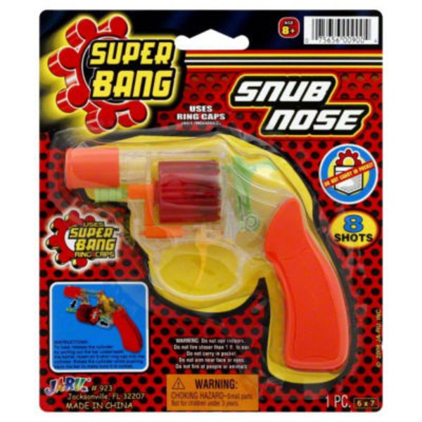 Ja-Ru Inc. Snub Nose Super Bang Ring Cap Gun