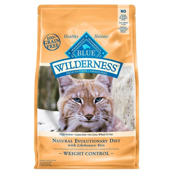 Blue Buffalo Food for Cats, Weight Control